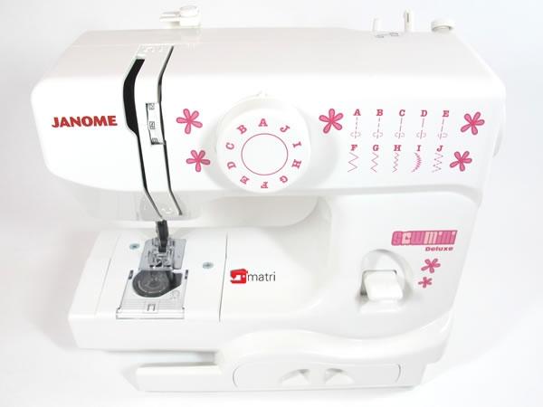 Janome sew mini matri maszyny do szycia for Machine a coudre klein
