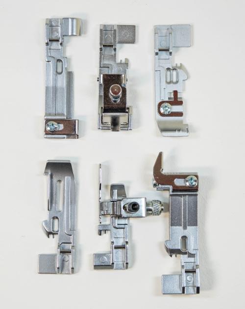 Set Nähfüße (6) für Singer Lockmaschinen