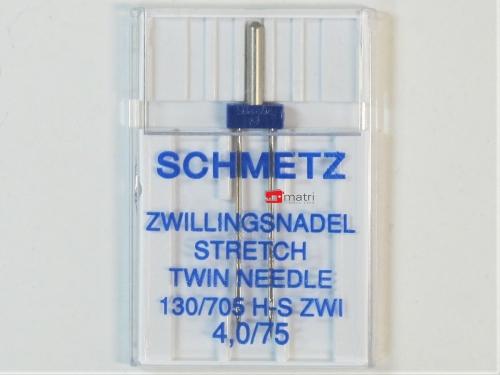 Schmetz Zwillingsnadel 4 / 75