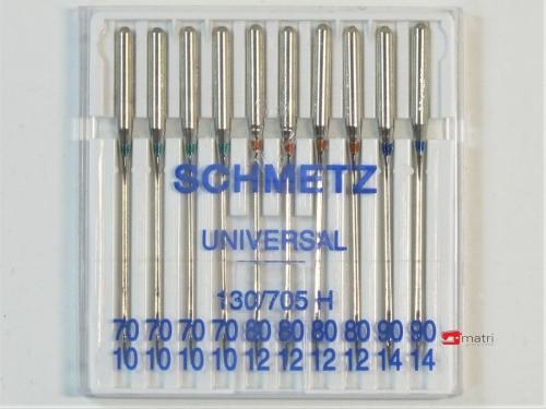Schmetz Nähmaschinennadeln größe 70-80-90